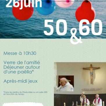 Venez fêter nos prêtres le 26 juin!
