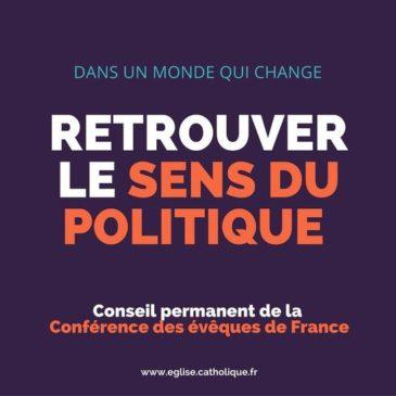 Retrouver le sens du politique – Soirée d'échanges jeudi 12 janvier 20h15