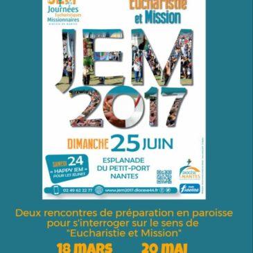 En route vers JEM ! Deux rencontres de préparation en paroisse avant le 25 juin…
