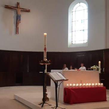 Le choeur de l'église de Sautron
