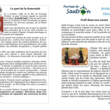 Bulletin paroissial Sautron
