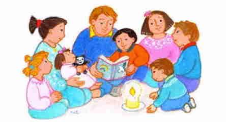 Un moment de partage autour de l'Evangile du dimanche avec les enfants