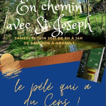 Pèlerinage «En chemin avec Saint Joseph»  SAMEDI 19 JUIN DE 9H à 14H