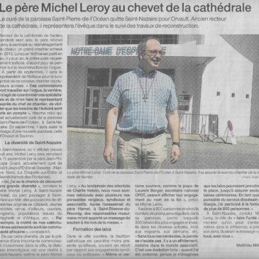 Le Père Michel Leroy sur Ouest-France